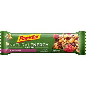 PowerBar Natural Energy Cereal Bar Box 24x40g, Raspberry Crisp